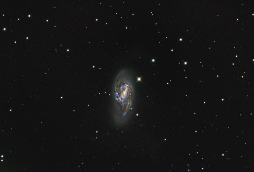 Balkenspirale Messier 66, Sterbild Löwe