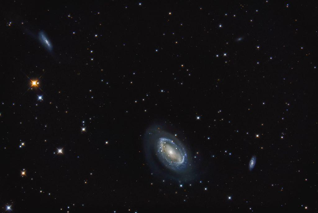 NGC4725, RC16, Nikon D800, PixInsight, Photoshop